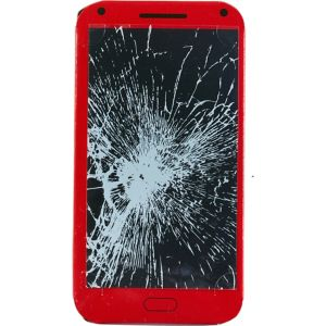 Cracked Screen Sticker