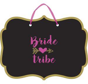 Bride Tribe Wedding Sign