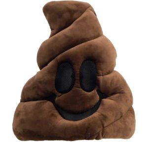 Oversized Poop Icon Mask