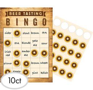 Beer Tasting Bingo Game