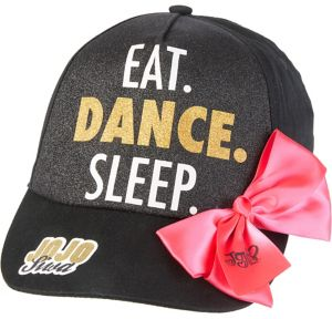 Child JoJo Siwa Eat Dance Sleep Baseball Hat