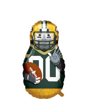 Giant Football Player Green Bay Packers Balloon