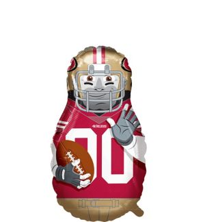 Giant Football Player San Francisco 49ers Balloon