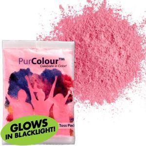 Neon Pink Color Powder