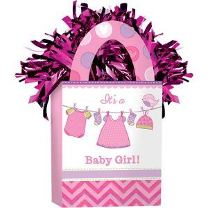 It's a Girl Baby Shower Balloon Weight