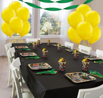 The Lego Ninjago Movie Basic Party Kit for 8 Guests