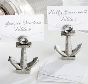 Nautical Anchor Place Card Holders 6ct