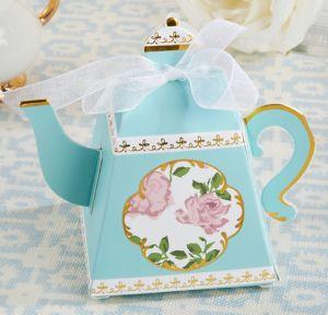 Tea Time Teapot Favor Boxes 24ct