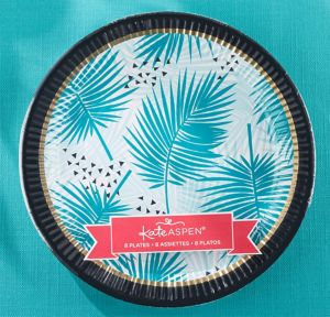 Tropical Chic Lunch Plates 8ct