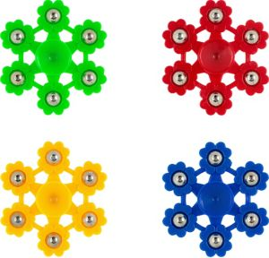 6-Point Flower Fidget Spinner