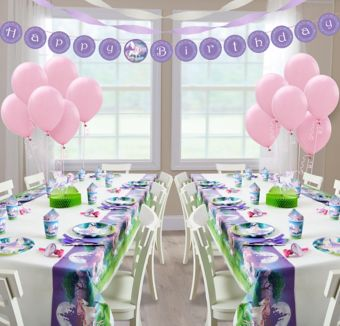 Unicorn Deluxe Party Kit for 16 Guests