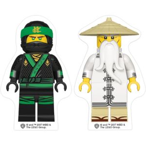 The Lego Ninjago Movie Erasers 2ct