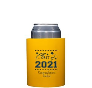 Personalized Graduation Can Coozies