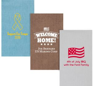 Personalized 4th of July Bella Guest Towels
