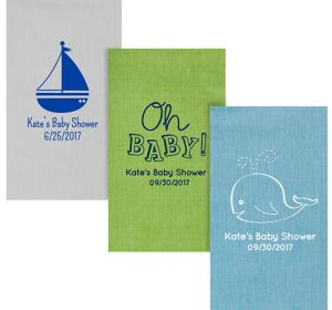 Personalized Baby Bella Guest Towels