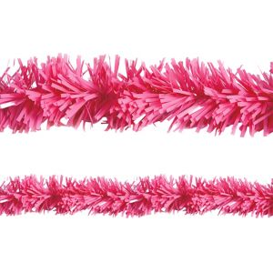 Pink Tinsel Garland