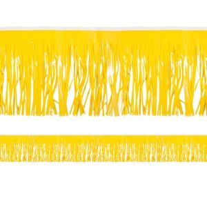 Yellow Fringe Decoration