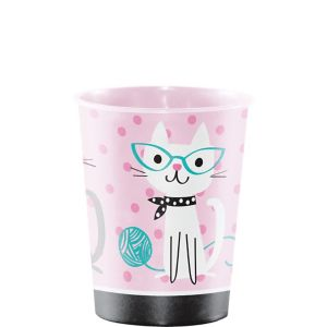 Purrfect Cat Favor Cup