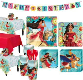 Elena of Avalor Tableware Party Kit for 24 Guests