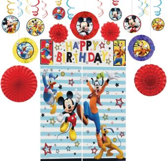 Mickey Mouse Decoration Kit