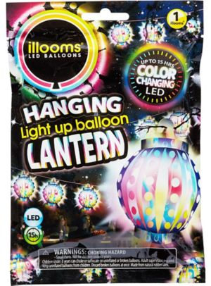 Illooms Light-Up Color-Changing LED Balloon Lantern