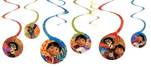 Coco Swirl Decorations 8ct