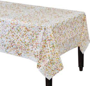 Rainbow Sprinkles Table Cover