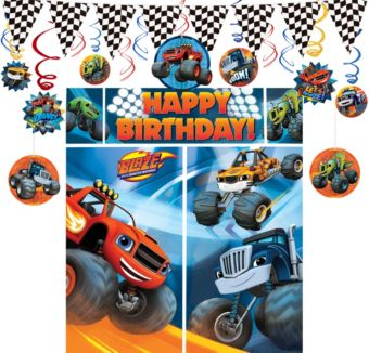 Blaze and the Monster Machines Decoration Kit