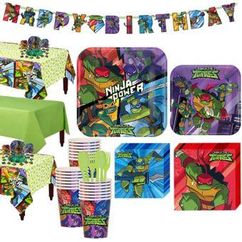 Teenage Mutant Ninja Turtles Tableware Party Kit for 24 Guests