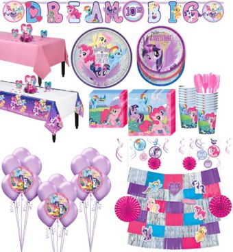 My Little Pony Tableware Ultimate Kit for 16 Guests