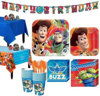 Toy Story Tableware Party Kit for 16 Guests