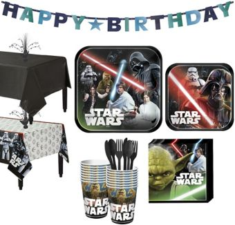 Star Wars Tableware Party Kit for 16 Guests