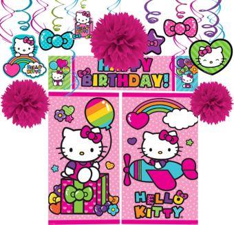 Rainbow Hello Kitty Decoration Kit