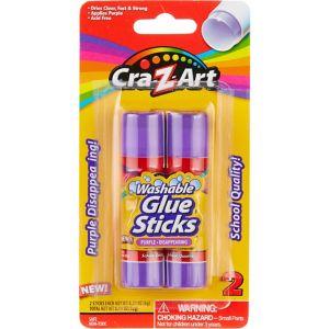 Cra-Z-Art Washable Glue Sticks 2ct