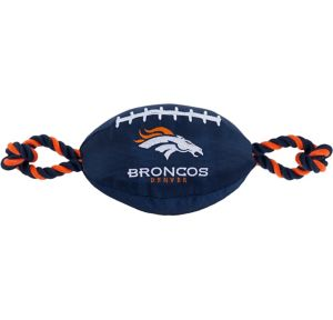 Denver Broncos Football Dog Toy