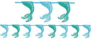 Glitter Mermaid Garland