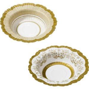 Porcelain Gold Bowls 12ct