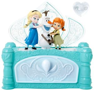 Animated Singing Frozen Jewelry Box