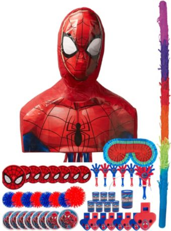 Webbed Wonder Spider-Man Pinata Kit with Favors