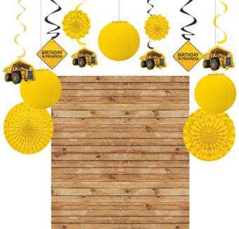 Construction Zone Decoration Kit
