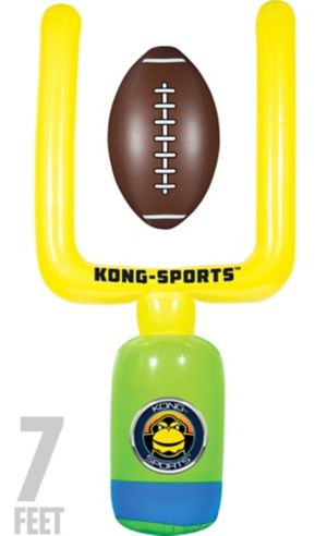 Giant Inflatable Field Goal Post & Football