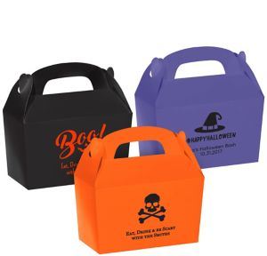 Personalized Halloween Gable Boxes