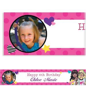 Custom Barbie Photo Banner