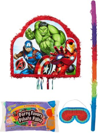 Avengers Pinata Kit with Candy & Favors