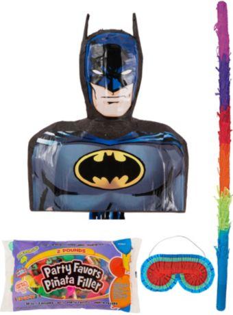 Batman Pinata Kit with Candy & Favors