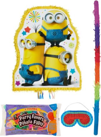 Minion Pinata Kit with Candy & Favors