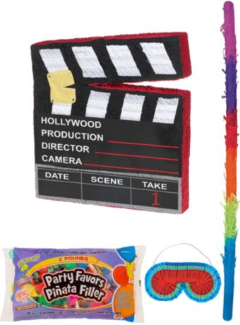 Movie Scene Marker Pinata Kit with Candy & Favors