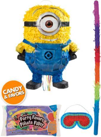 Bob Minion Pinata Kit with Candy & Favors - Despicable Me 2