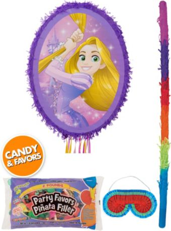Rapunzel Pinata Kit with Candy & Favors