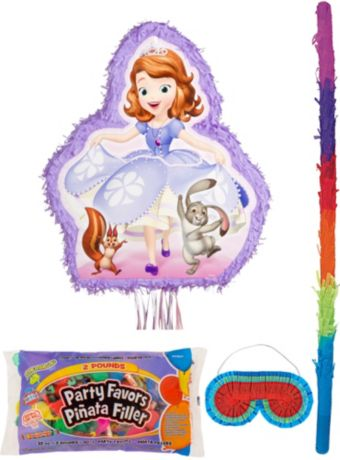 Sofia the First Pinata Kit with Candy & Favors